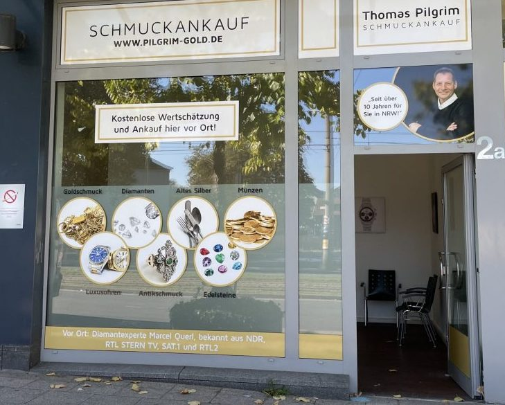Unser Ladenlokal für Goldankauf in Essen Bredeney